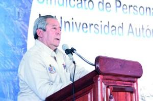 AFIRMA RECTOR QUE EL PAGO DE AGUINALDOS ESTÁ GARANTIZADO