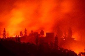 Incendio Camp Fire