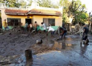 Inundación Willa